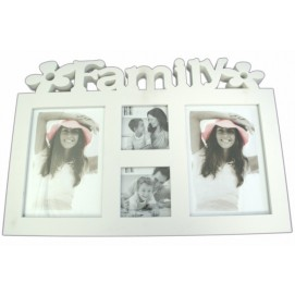 "Фоторамка 4Ф ""Family"" белая"