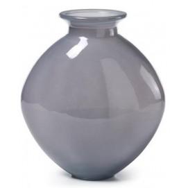 Ваза SAMWELL Vase 26cm серая AA0068C03 Laforma