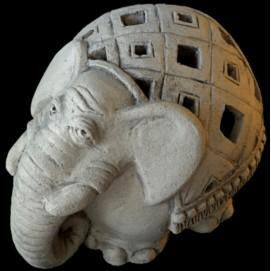 Скульптура Слон S006 Керамус