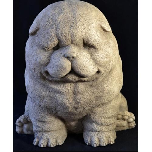 Скульптура Собака Шарпей S008 Керамус