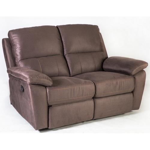 Диван LUNA 2-местный, 149x95xH99см, материал покрытия: ткань, цвет: коричневый 16735 Evelek