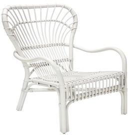 Кресло SURYA, 79x64xH99см белый 21111 Evelek