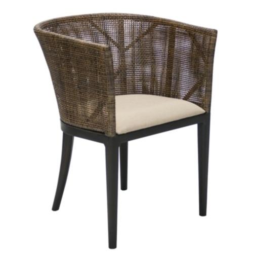 Кресло ROMA с подушкой 14062 коричневый Garden4You