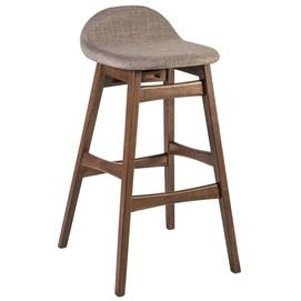 Барный стул BLOOM 47x51xH86см 20914 Evelek серый