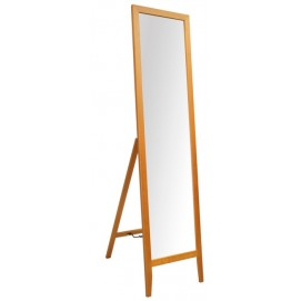 Напольное зеркало GERDA, 35x44,5xH134cм, деревянная рама, цвет: вишня 13929 Evelek