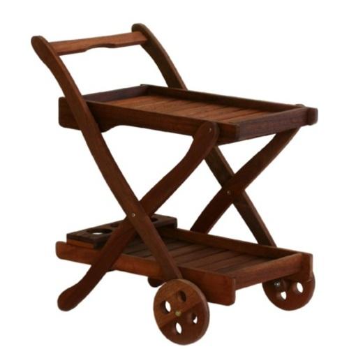 Сервировочный стол VIKTORIA коричневый 07092 Garden4You