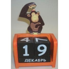 """Календарь - обезьяна """"Карнавал 20023"""