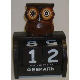 Календарь с совой 20009 Ф-1
