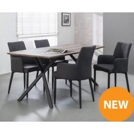 Стол обеденный 160x90cm Oval 3d texture 5685 / 59 натуральный Zijlstra
