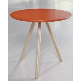 Стол кофейный 6333 / 41M Zijlstra оранжевый 50 см