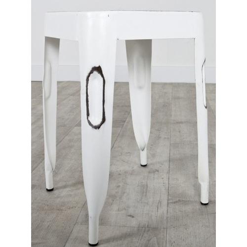 Табурет Tolix Paris Steel белый 3731 HOME Design