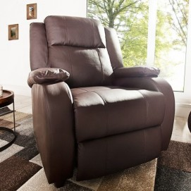 Кресло реклайнер King (Z36030) Invicta коричневое
