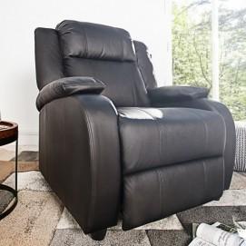 Кресло реклайнер King (Z36029) Invicta черное