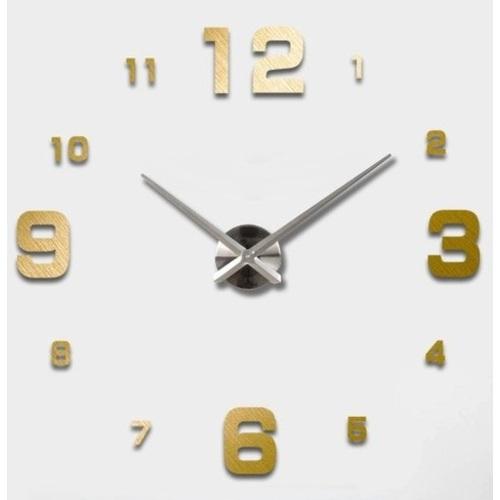 Часы настенные S005-S Ø 70-130 см золото Clock