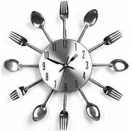 Часы настенные Ложки-Вилки Ø 31см Clock
