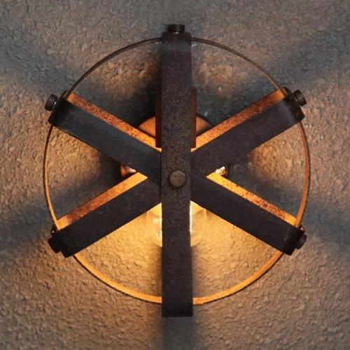 Светильник настенный К 6030 Loft черный