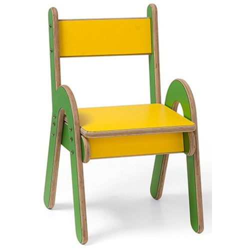 Стульчик Лябразил желто-зеленый Mimi