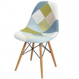 Стул Paris fabric цветная ткань DCV1-РК3 Primel ноги дерево