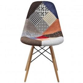 Стул Paris fabric цветная ткань DCV1-Х Primel ноги дерево