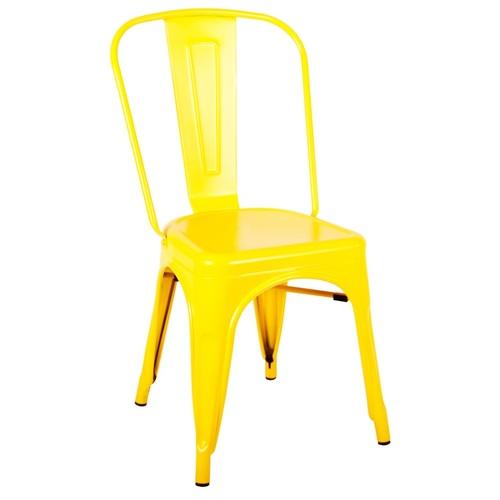 Стул Tolix MC-001A жёлтый Primel