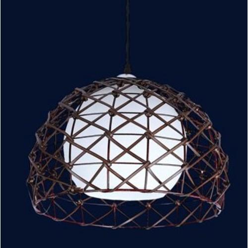 Лампа подвесная 7076222-1 коричневая Levada