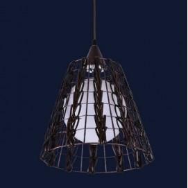Лампа подвесная 7092782-1 коричневая Levada
