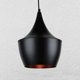 Лампа подвесная 72042013-2 черная Thexata