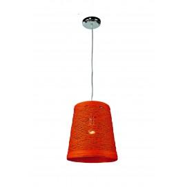 Лампа подвесная 72080066-1OG  Levada оранжевая