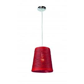 Лампа подвесная 72080066-1RD Levada красная