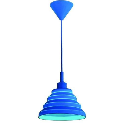 Лампа подвесная 720LS1012S-BL-1 синяя Levada