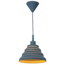 Лампа подвесная 720LS1012S-GY-1 серая Levada