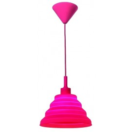 Лампа подвесная 720LS1012S-RD-1 красная Levada