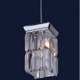Лампа подвесная хрустальная 7778043-1 хром Levada
