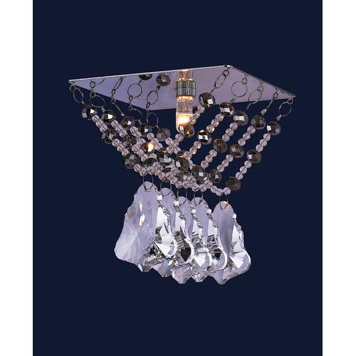 Точечный светильник 712A2097 CH/CL хром Levada