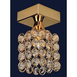 Светильник точечный 721X88154-1 золото Levada