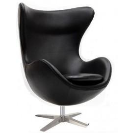 Кресло Эгг черное Mebelmodern