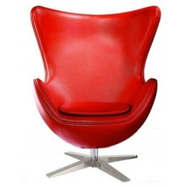 Кресло Эгг красное Mebelmodern