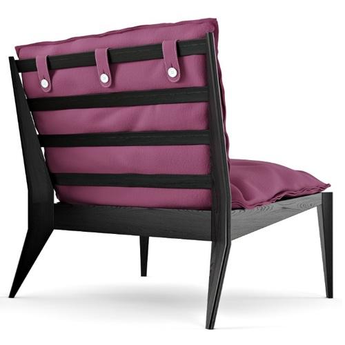 Кресло OLLLY D.Borisov фиолетовое
