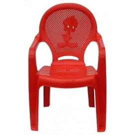 Детское кресло пластиковое Утенок красное PAPATYА
