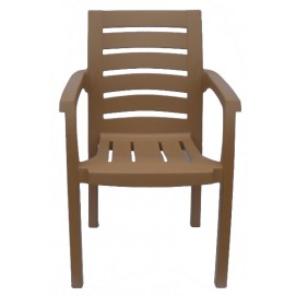 Кресло пластиковое Жимолость бежевое