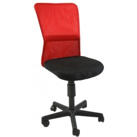 Стул офисный BELICE чёрно-красный 27735