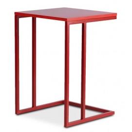 Стол журнальный Модерн-2-KS-fk D'LineStyle красный