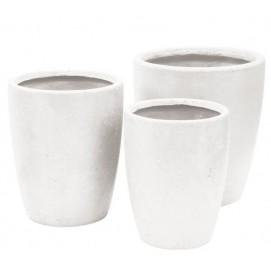 Горшок 72844 34x43,5 см Miloo белый