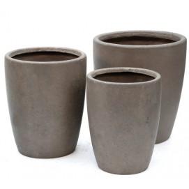 Горшок 72981 27x36,5 см Miloo коричневый