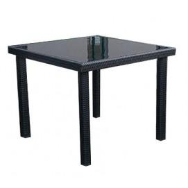 Стол обеденный SANTA Miloo черный