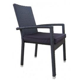 Кресло SANTA Miloo черный