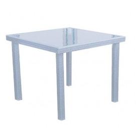 Стол обеденный SANTA Miloo белый