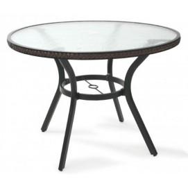 Стол обеденный SOLAR темно-коричневый 21058 Evelek