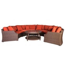 Комплект Cancun (диван угловой+стол кофейный) 13156 Evelek