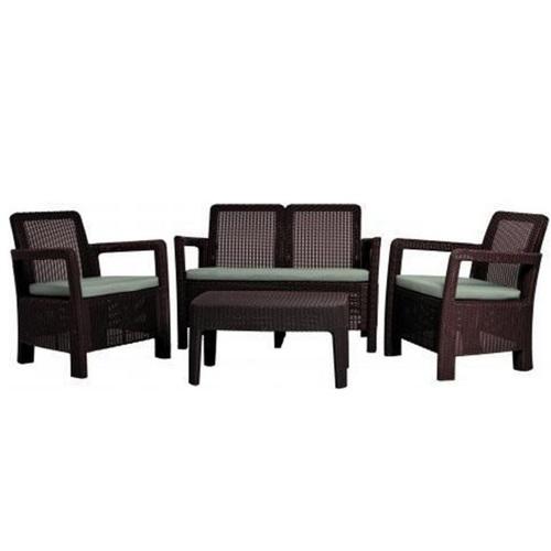 Комплект для отдыха (диван+2 кресла+столик) Tarifa 604870 Evelek